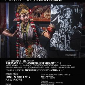 Pameran Foto Indonesian Heritage | Jumat 27 Maret 2015 pukul 17.00 WIB di Erasmus Huis