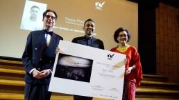 Yoppy Pieter, Penerima Erasmus Huis Fellowship to Amsterdam 2015