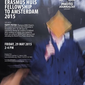 Photo Presentation & Discussion ERASMUS HUIS FELLOWSHIP TO AMSTERDAM 2015 |29 May 2015