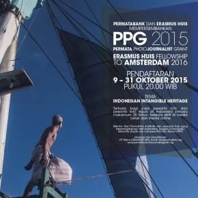 PERMATA PHOTOJOURNALIST GRANT 2015 | Pendaftaran 9-31 Okt 2015 pukul 20.00 WIB