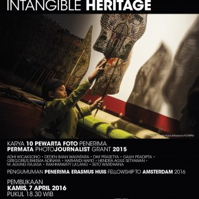 Pameran Foto INDONESIAN INTANGIBLE HERITAGE | 7 April 2016