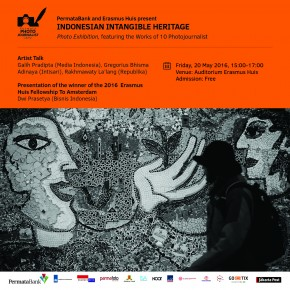 Discussion on Indonesian Intangible Heritage & EH Fellowship to AMS 2016 I 20 Mei 2016