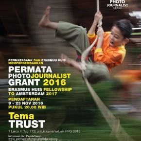 PERMATA PHOTOJOURNALIST GRANT 2016 | Pendaftaran 9-23 Nov 2016 pukul 20.00 WIB