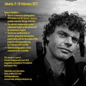 Penerima One-on-one PORTFOLIO REVIEW With Kadir van Lohuizen (NOOR photographer)