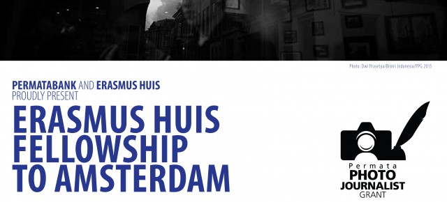 Erasmus Huis Fellowship To Amsterdam Submission is now open!
