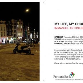 The Photo Exhibition MY LIFE, MY CHOICE - IMMANUEL ANTONIUS | Leica Store Indonesia