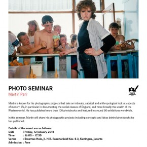 Photo Seminar by Martin Parr