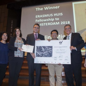 Agoes Rudianto: Penerima Erasmus Huis Fellowship to Amsterdam 2018