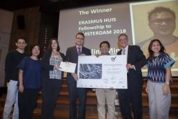 Penerima Erasmus Huis Fellowship to Amsterdam 2018, Agoes Rudianto