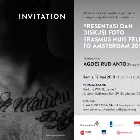 Presentasi & Diskusi Foto ERASMUS HUIS FELLOWSHIP TO AMSTERDAM 2018 | 17 Mei 2018