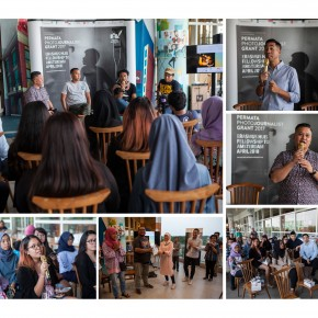 Diskusi Karya Foto CHANGE di BXc Mall