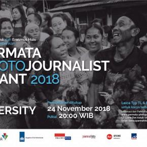 PERMATA PHOTOJOURNALIST GRANT 2018 | Pendaftaran Ditutup 24 Nov 2018 pukul 20.00 WIB