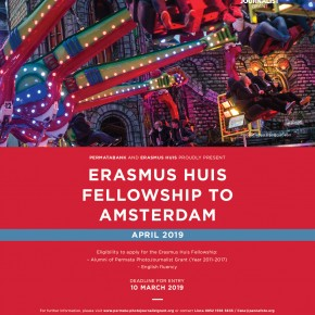 Erasmus Huis Fellowship to Amsterdam - April 2019