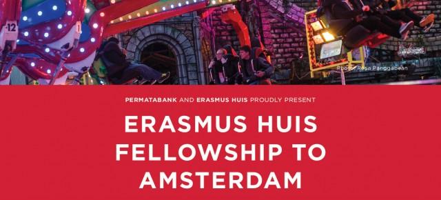 Erasmus Huis Fellowship to Amsterdam - April 2019