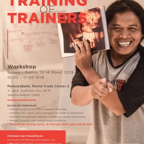 10 Peserta Workshop Training of Trainers (ToT) | 12-14 Maret 2019