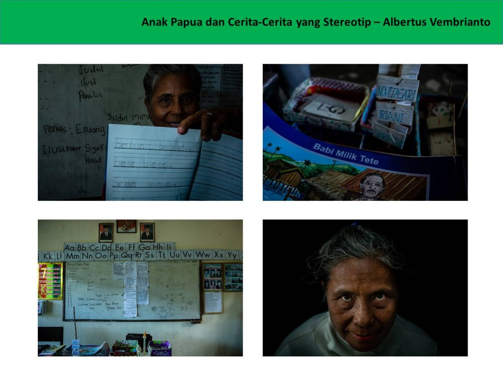 Albertus Vembrianto - Anak Papua dan Cerita-Cerita yang Stereotip