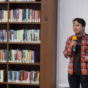 Presentasi dan Diskusi Penerima Erasmus Huis Fellowship to Amsterdam 2019: Rahmad Azhar Hutomo