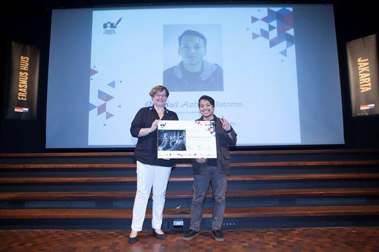 Penerima Erasmus Huis Fellowship to Amsterdam 2019, Rahmad Azhar Hutomo