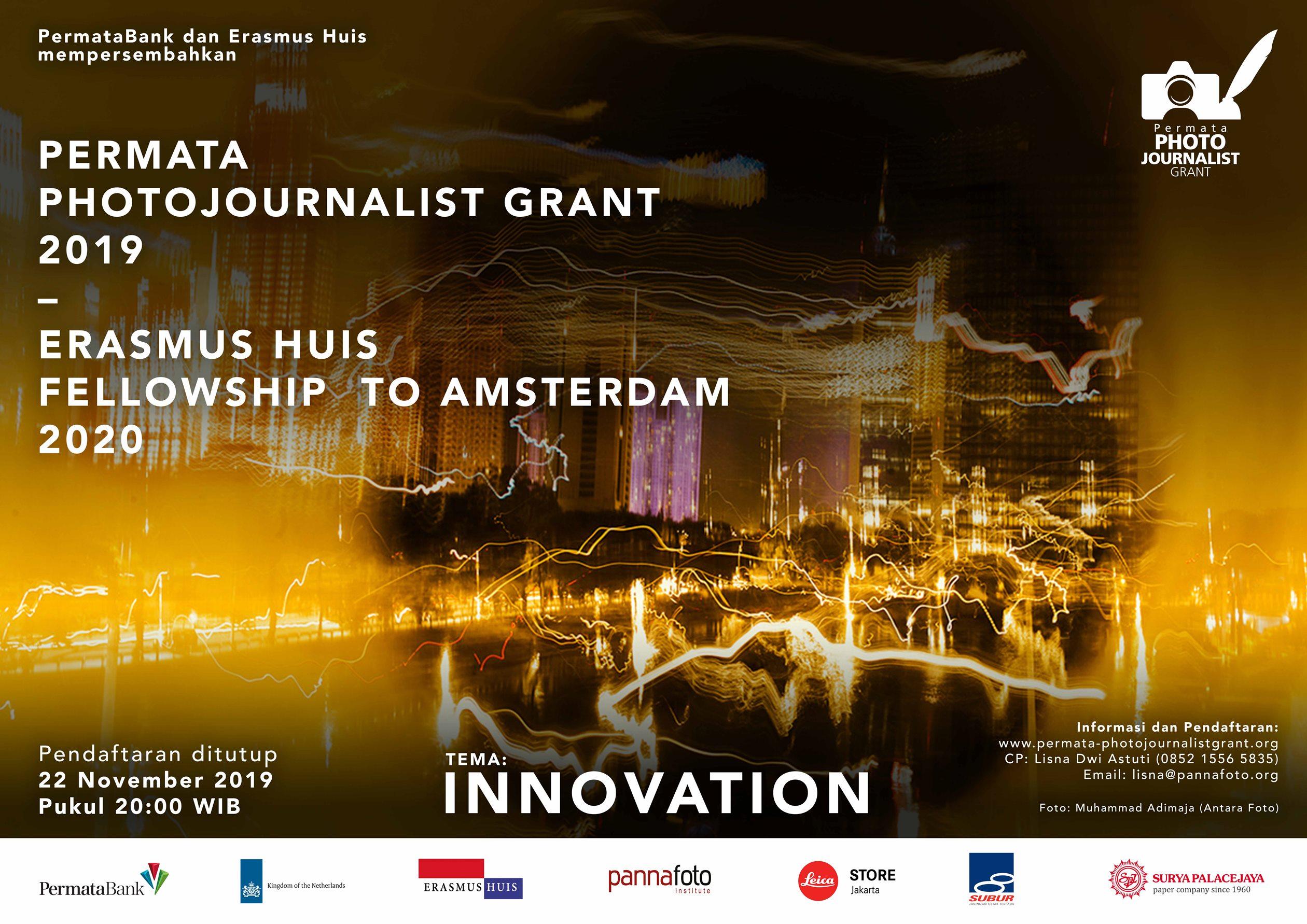 Permata Photojournalist Grant 2019 - Erasmus Huis Fellowship to Amsterdam 2020