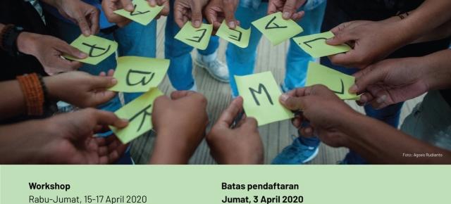 Pendaftaran TRAINING OF TRAINERS 2020 Dibuka Hingga 3 April 2020