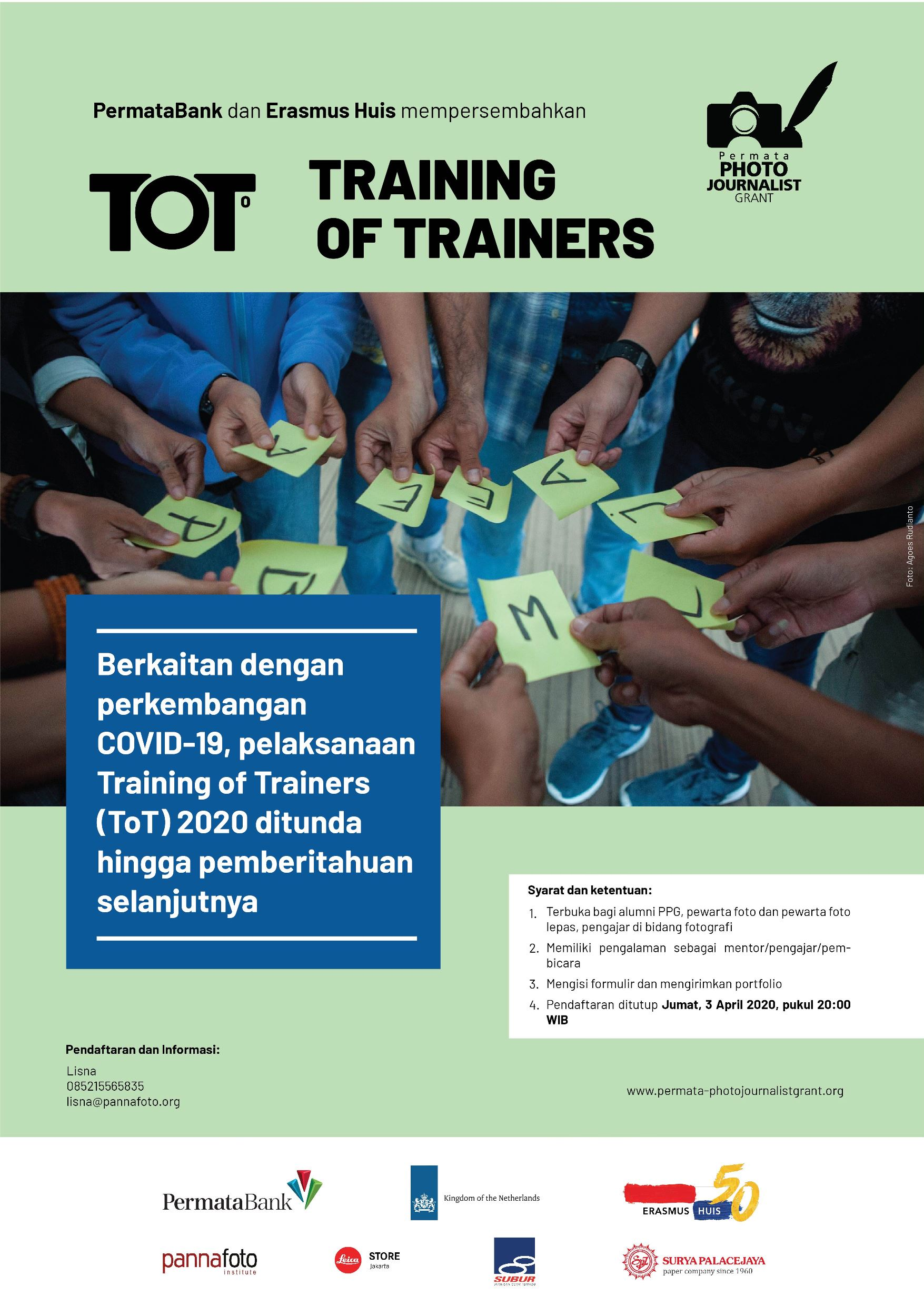 Training of Trainers 2020