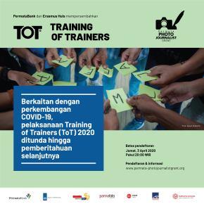 PEMBERITAHUAN PENTING! Pelaksanaan Training of Trainers (ToT) 2020 Ditunda
